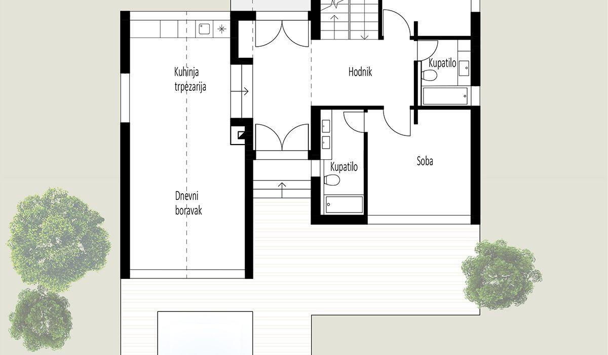 cottage - ground floor